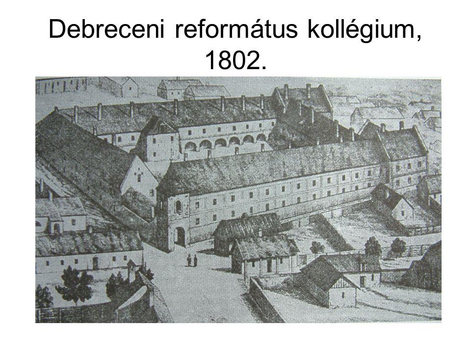 Debreceni református kollégium, 1802.