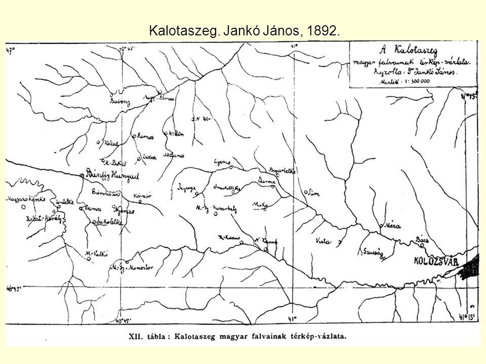 Kalotaszeg. Jankó János, 1892.