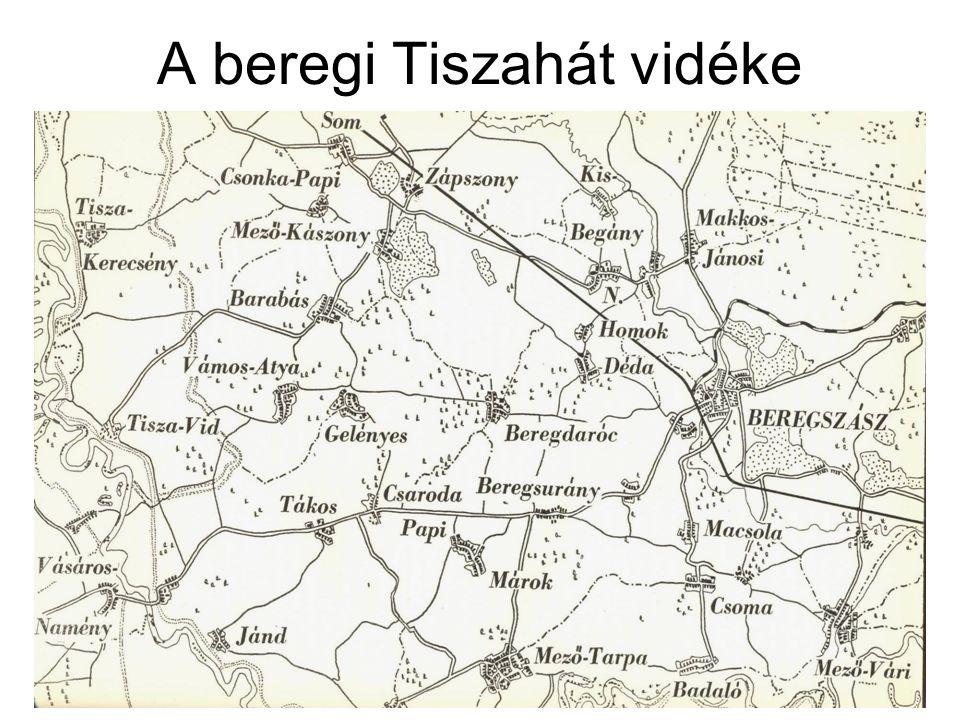 A beregi Tiszahát vidéke