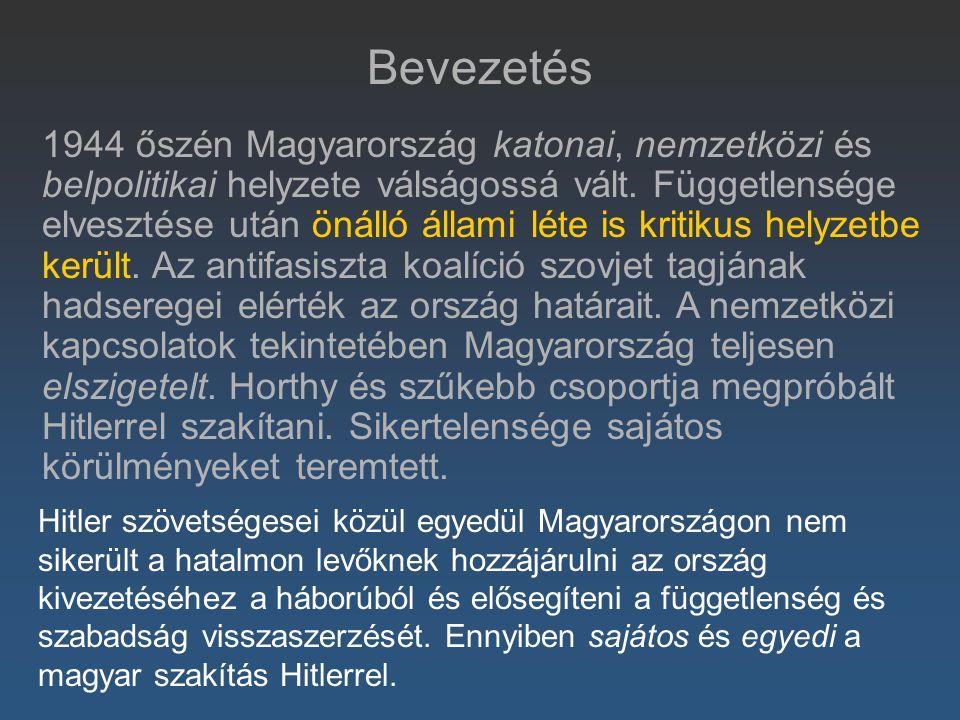 Az új magyar államiság kialakulásának nemzetközi körülményei Az új magyar államiság kialakulásának hazai körülményei Az INGY és INK személyi összetétele Az INGY és INK tevékenysége Az INGY korlátai Az INGY és az INK a magyar történelemben Összefoglalás Kronológia Fogalmak Rövid életrajzok Témák ismertetése