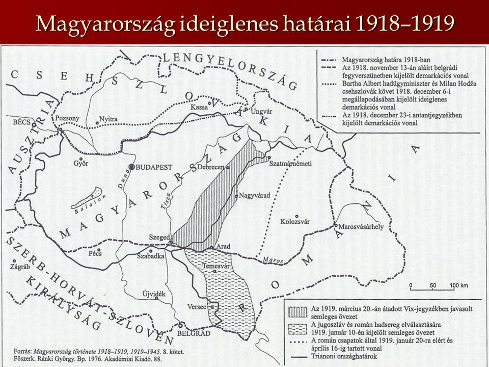 A tanácsköztársaság létrejötte A társadalmi elégedetlenség növekedése (paraszti rétegek, munkásság)A társadalmi elégedetlenség növekedése (paraszti rétegek, munkásság) MSZDP irányítása a baloldaliak kezébenMSZDP irányítása a baloldaliak kezében Egyedül nem vállalják a kormányzástEgyedül nem vállalják a kormányzást Megegyezés a KMP-vel Magyarországi Szocialista Párt Magyar Tanácsköztársaság