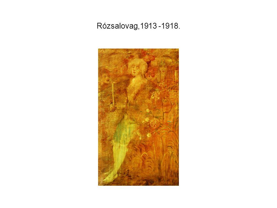 Rózsalovag,1913 -1918.