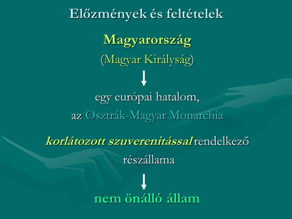 Magyarország az Osztrák-Magyar Monarchiában 1.