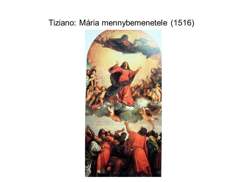 Tiziano: Mária mennybemenetele (1516)