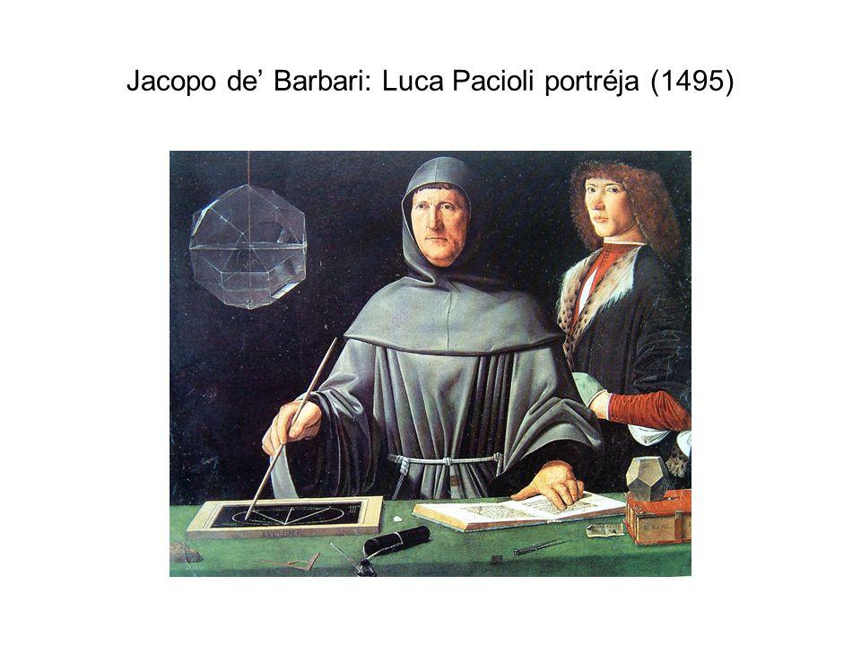 Jacopo de' Barbari: Luca Pacioli portréja (1495)