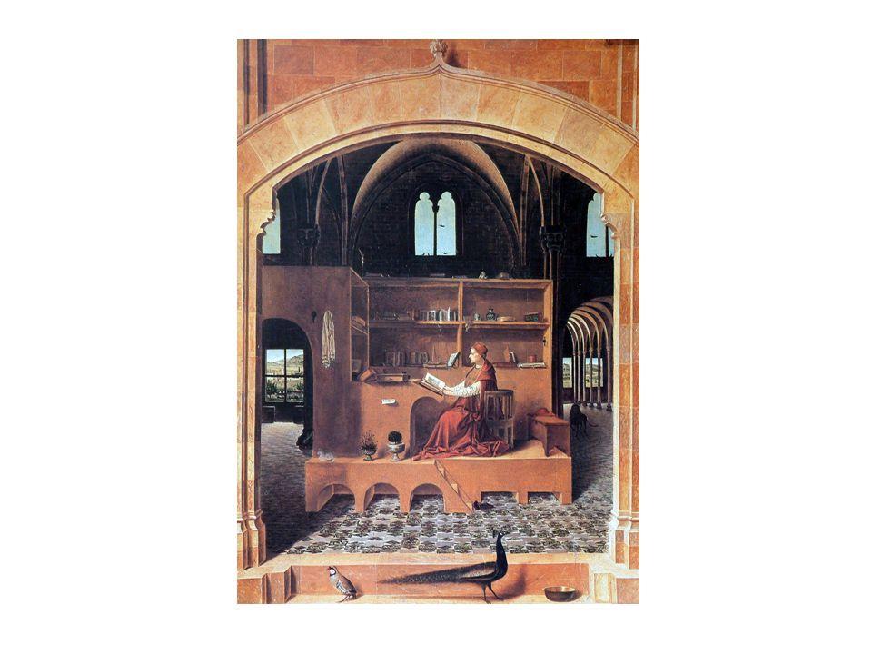 portrék megjelenése Benezzo Gozzoli: Háromkirály – a sarkában ott a portéja Raffaelo: Athéni iskola (több kortárs művész portréja) Parmigianio, Vasari, Tiziano illentankönyvek Castiglione: Udvari ember (1528) Giovanni Della Casa: Galateo (1558) Stefano Guazzo: Polgári csevely (1574) megnövekszik az ember méltóságára való hivatkozás a lélek = emberisten (Lorenzo Valla) a racionális ember akár isteni is lehet (Pomponazzi) az ókoriak isteniek (Lorenzo de' Medici) Raffaelo halandó isten (Vasari) e szemlélet a képzőművészetre is hat tökéletes testek ábrázolása szépség ábrázolása (önmaga is attribútummá válik) az értelem (ragione) megbecsülése ragione = könyvelés, arány, mérték