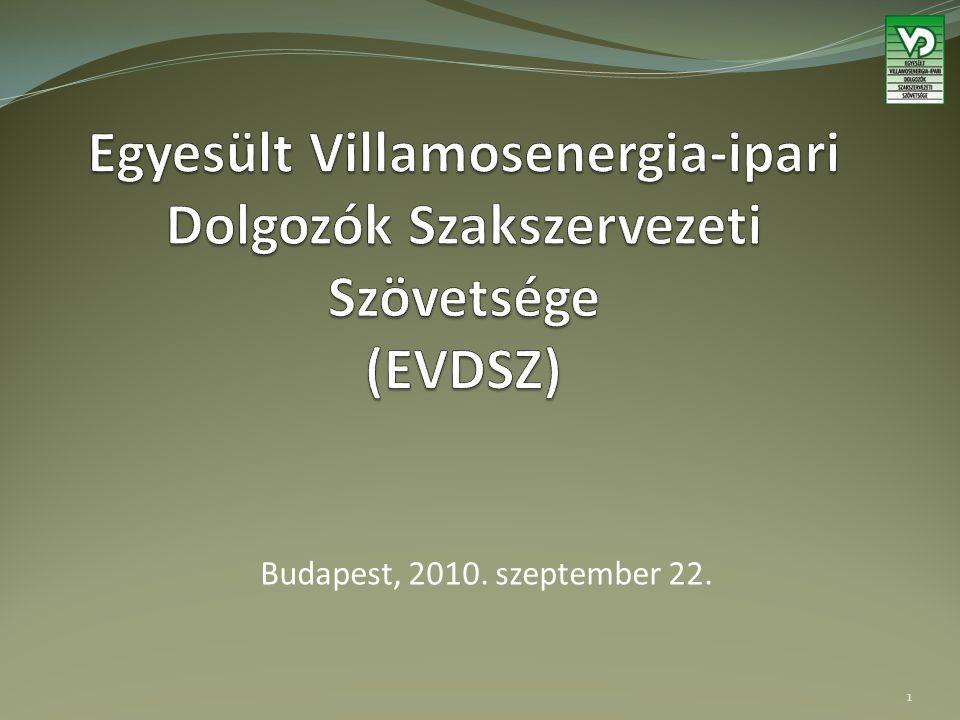 Budapest, 2010. szeptember 22. 1