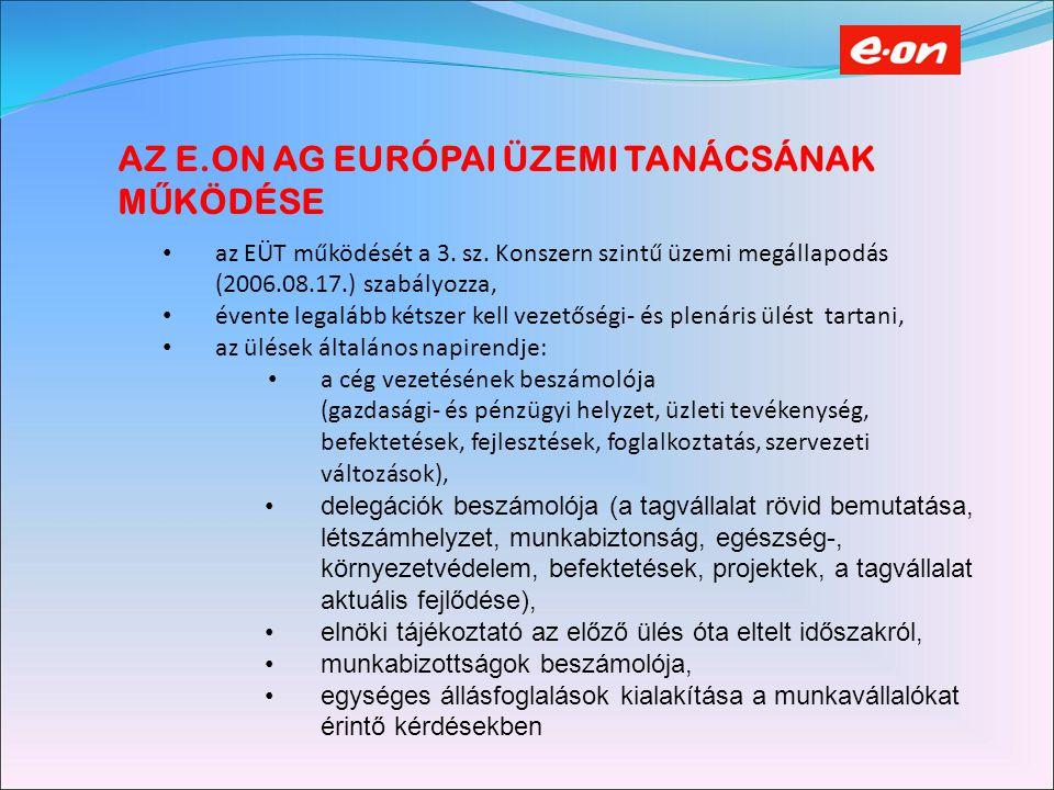 A MAGYARORSZÁGI MUNKAVÁLLALÓK KÉPVISELETE a magyar munkavállalók részvételének előkészítése már 2000-ben elkezdődött, tényleges csatlakozás 2004.