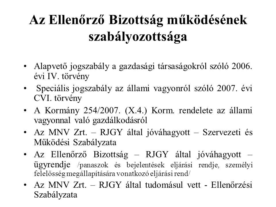 A Vtv.szerinti EB specialitása a Gt.