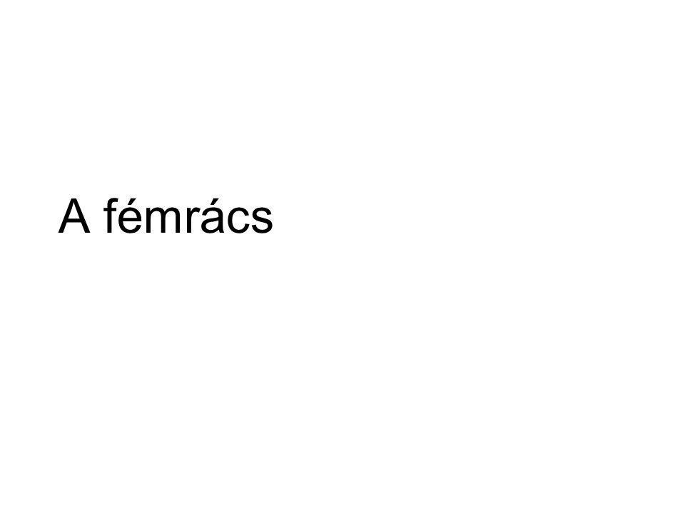 Fémrács….