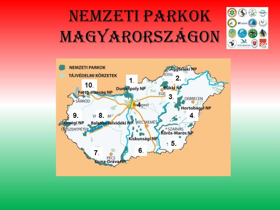 Nemzeti parkok magyarországon 1.1. 2. 3.3. 4.4. 4. 5. 6.6. 7.7. 8.9. 10.