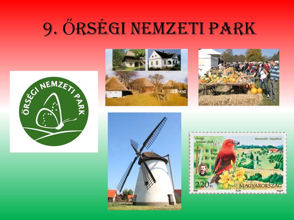 9. Ő rségi nemzeti park