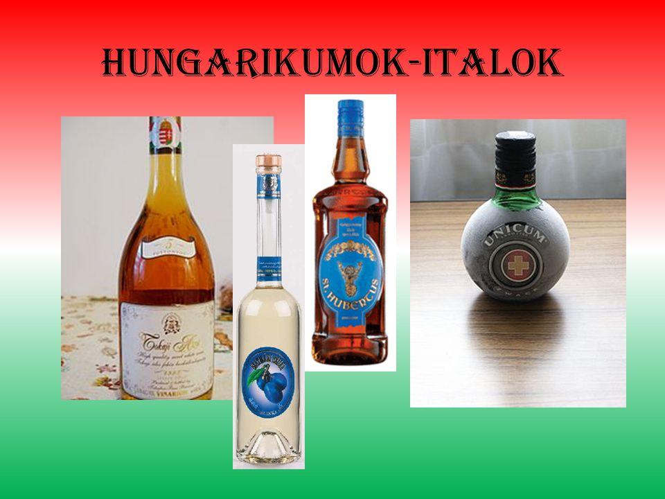 Hungarikumok-italok
