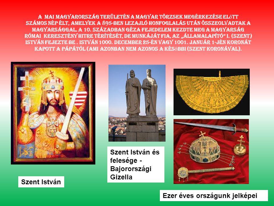 A mai Magyarország területén a magyar törzsek megérkezése el ő tt számos nép élt, amelyek a 895-ben lezajló honfoglalás után összeolvadtak a magyarsággal.
