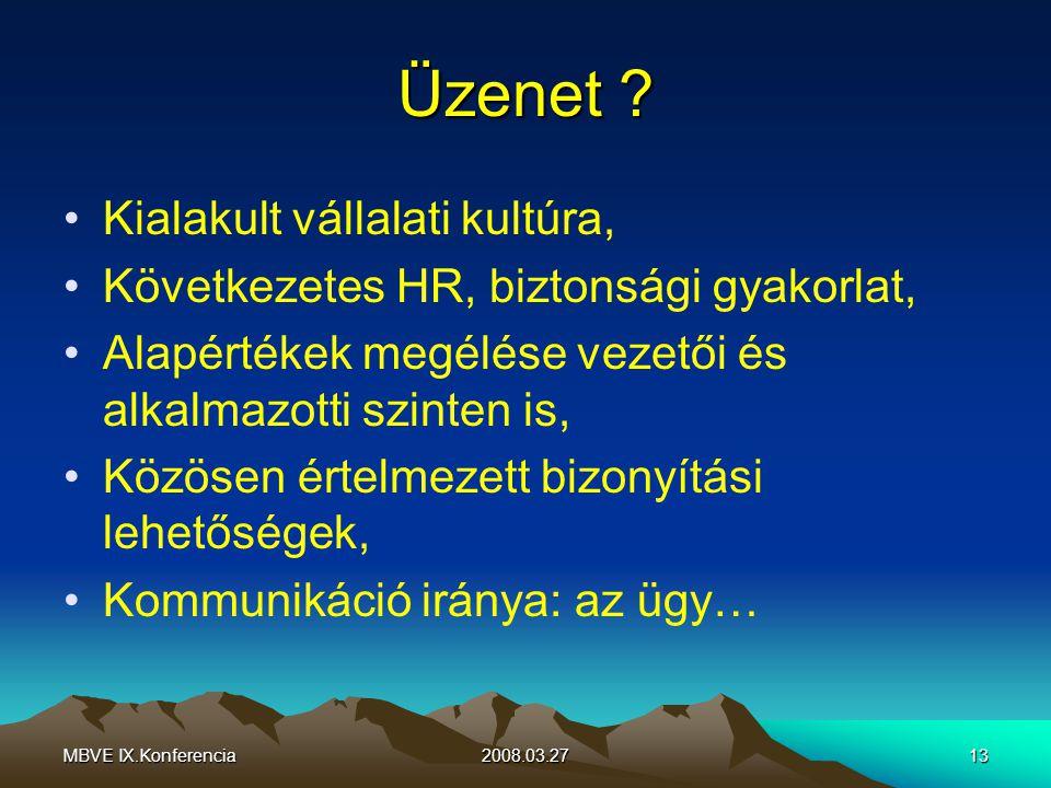 MBVE IX.Konferencia2008.03.2713 Üzenet .