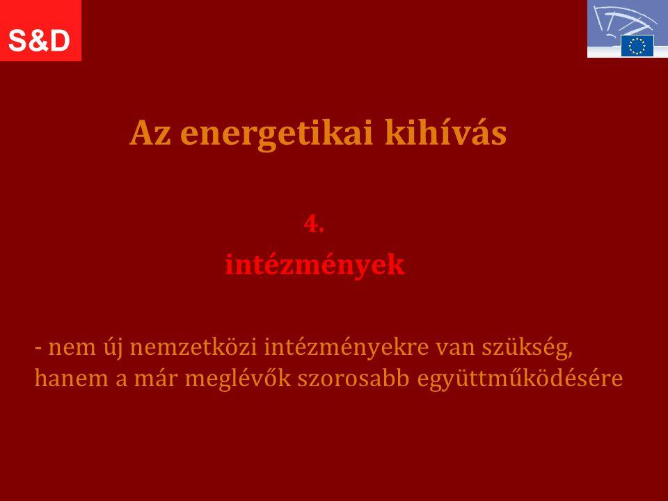Az energetikai kihívás 4.