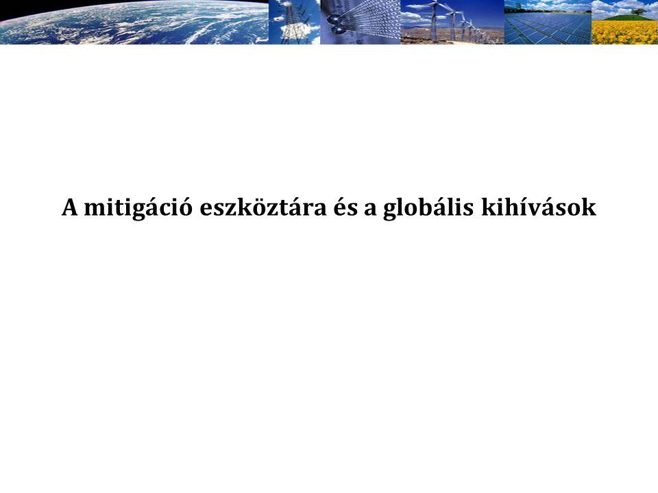 A mitigáció eszköztára és a globális kihívások