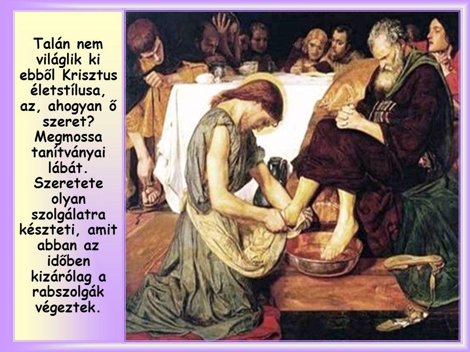 """""""Mivel szerette övéit, akik a világban maradtak, mindvégig szerette. (Jn 13,1)"""
