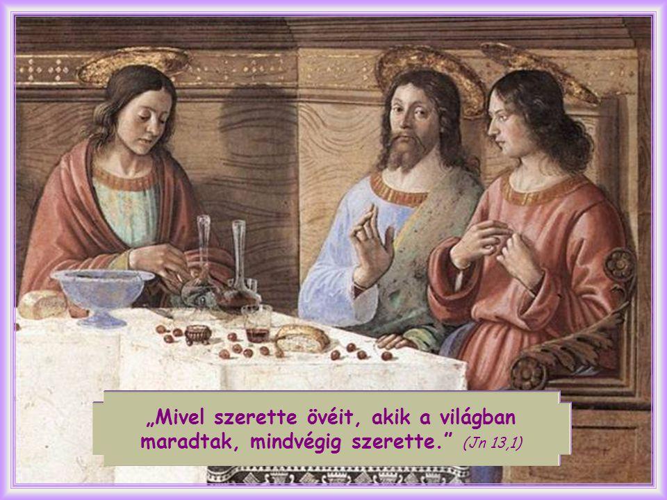 """Jézus halálra adta magát, elhagyottságában az Atya után kiáltott, míg végül azt mondhatta: """"minden beteljesedett ."""
