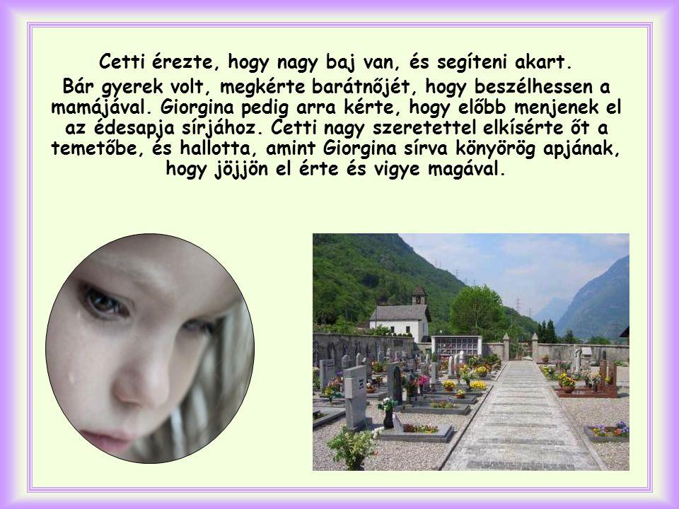 Így tett a tizenegy éves Cetti egy olasz városban.