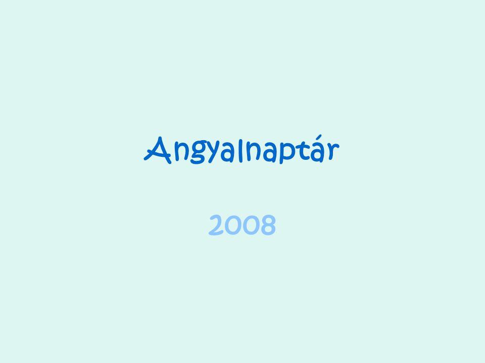 Angyalnaptár 2008