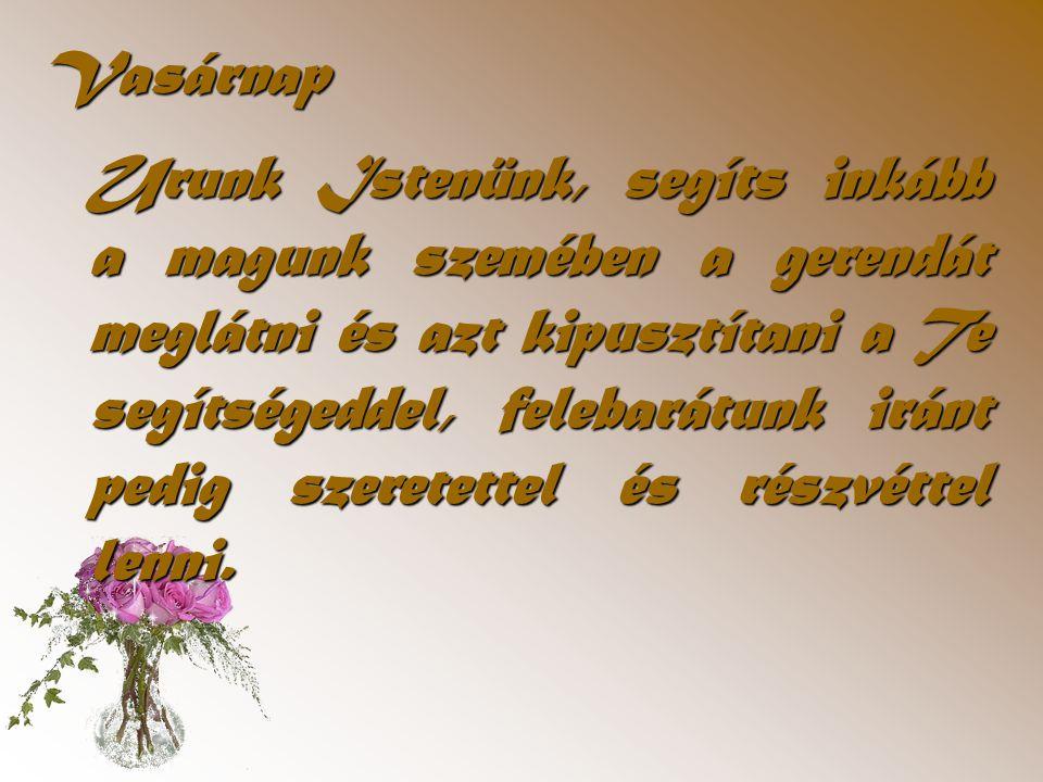 Diapositive de résumé Szombat Az Úr követésér ő l Az Úr Jézus egész élete példa számunkra.
