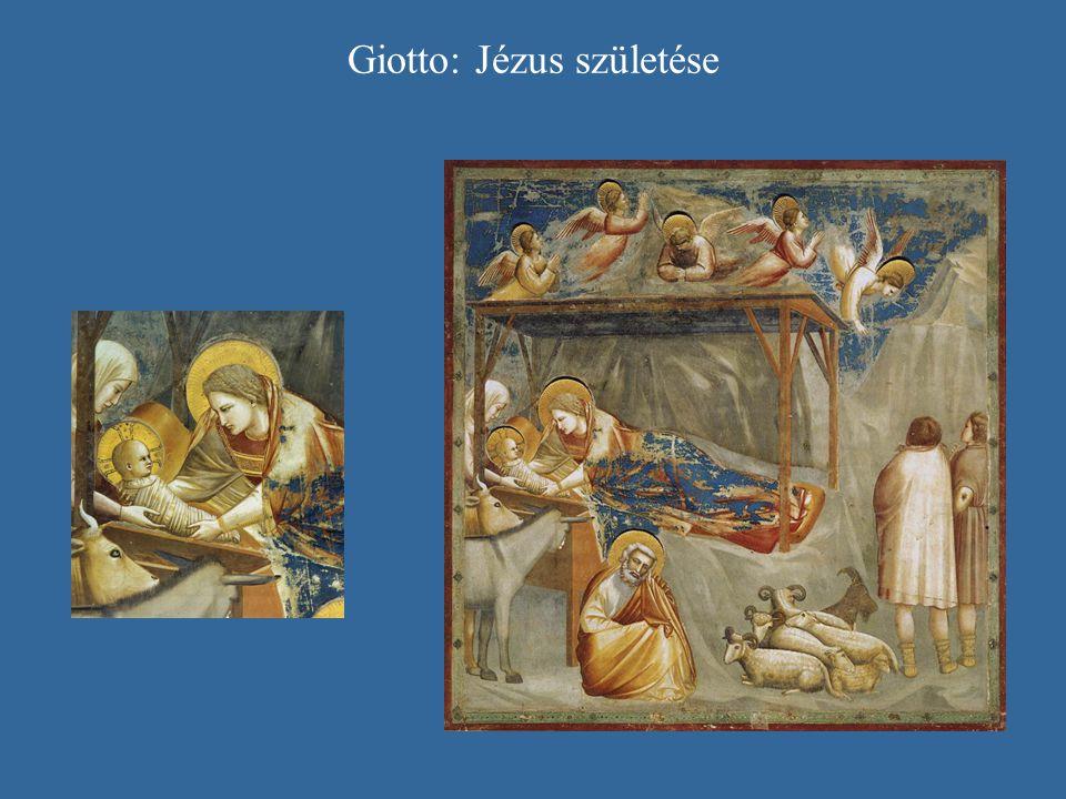 Giotto: Jézus születése
