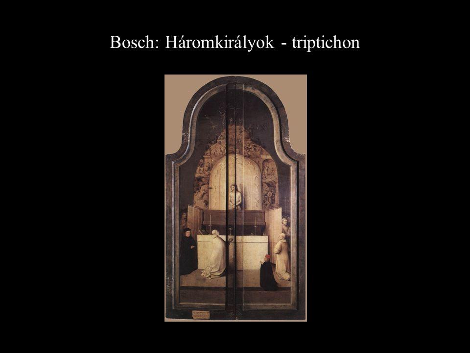 Bosch: Háromkirályok - triptichon