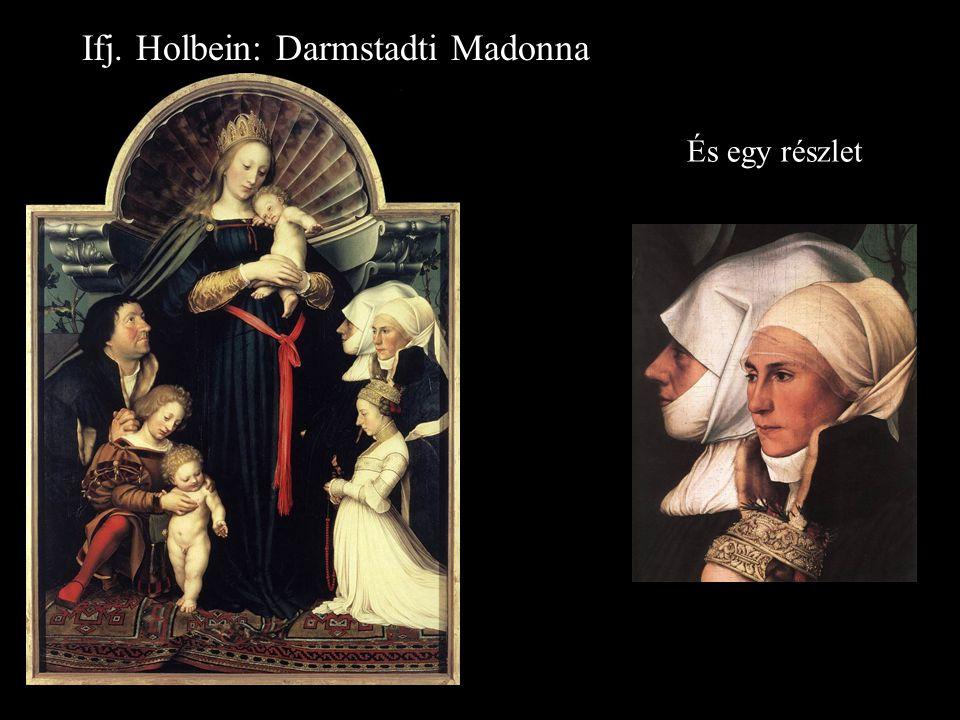 Ifj. Holbein: Darmstadti Madonna És egy részlet