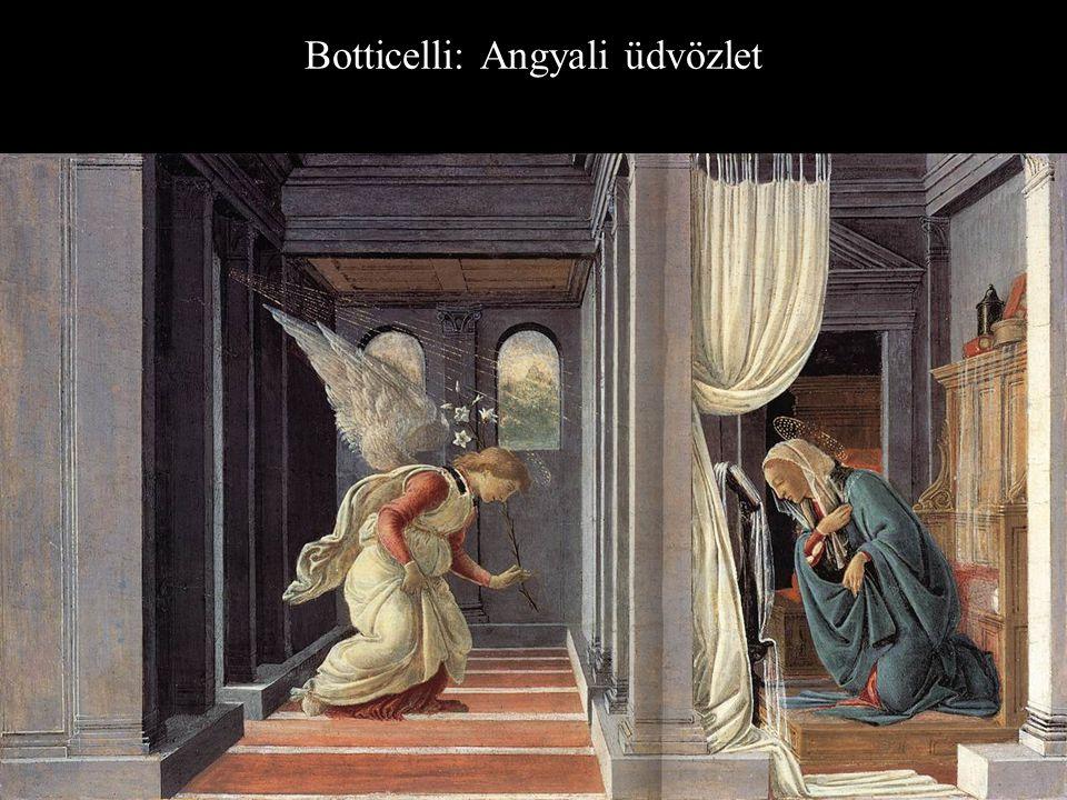 Botticelli: Angyali üdvözlet