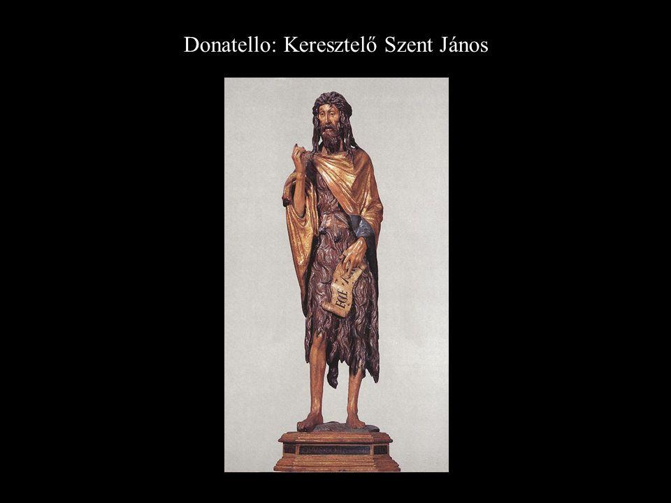 Donatello: Keresztelő Szent János