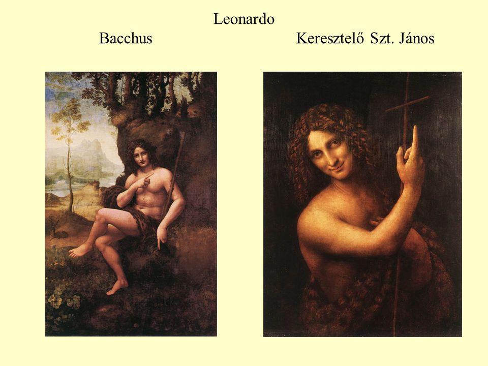 Leonardo Bacchus Keresztelő Szt. János