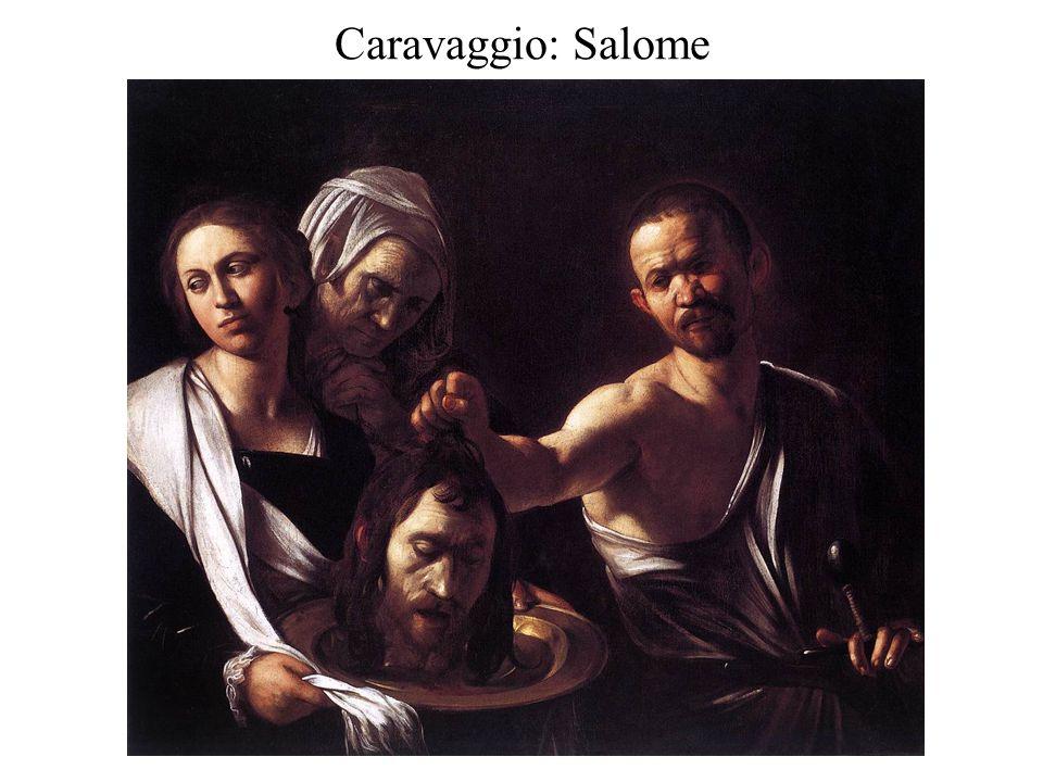 Caravaggio: Salome