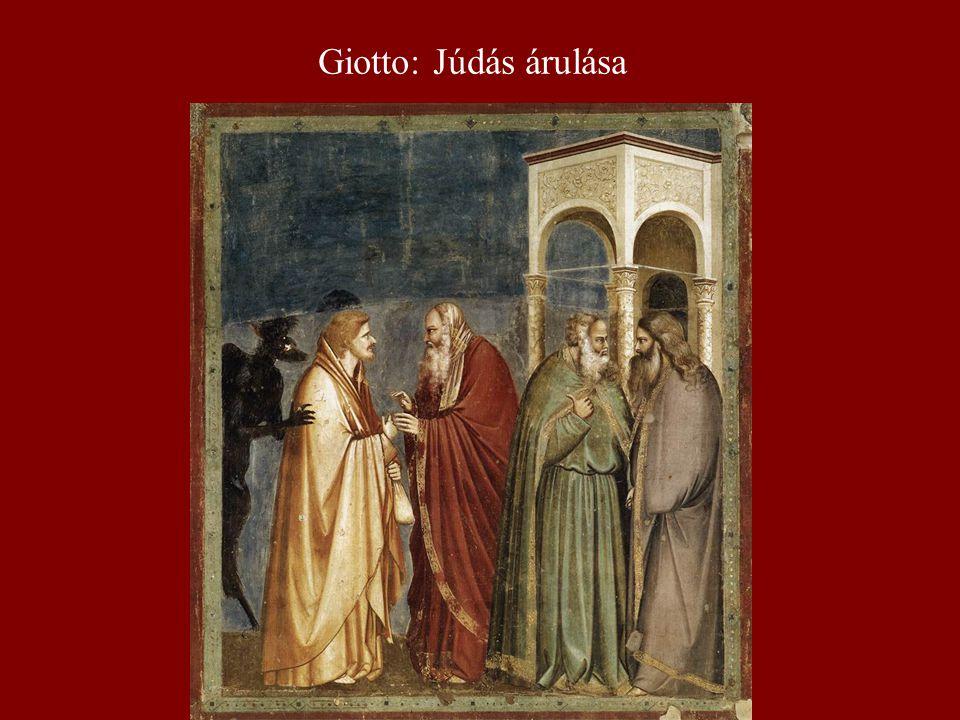 Giotto: Júdás árulása