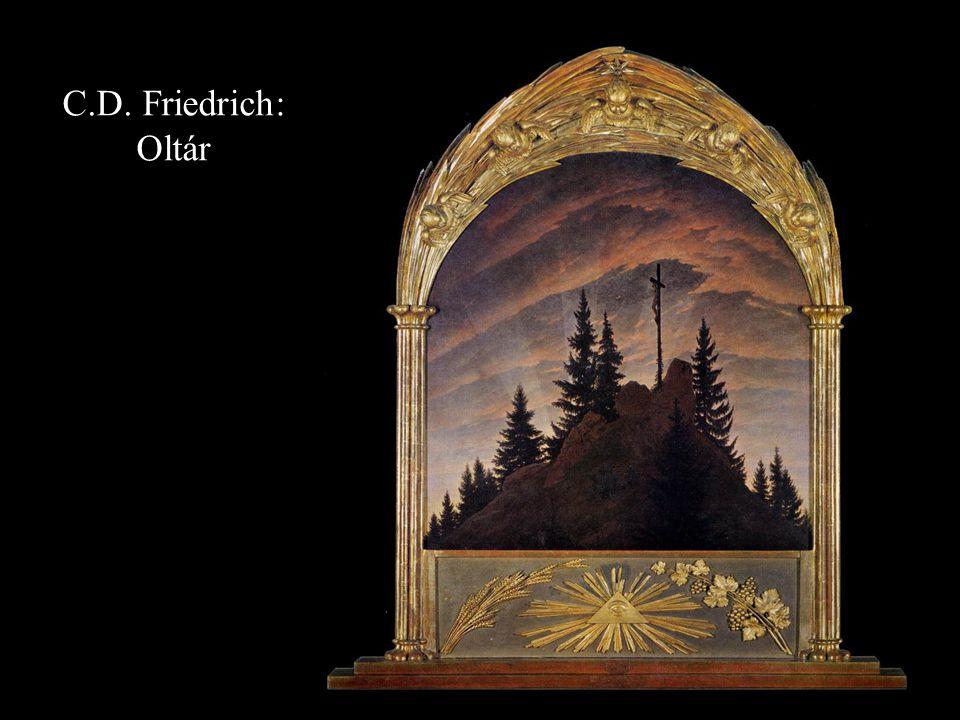 C.D. Friedrich: Oltár