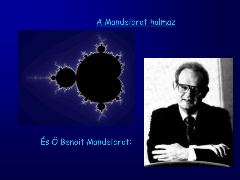 A Mandelbrot halmaz És Ő Benoit Mandelbrot: