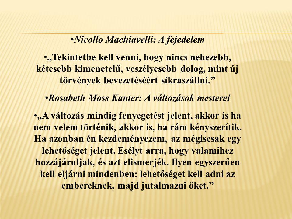 """Nicollo Machiavelli: A fejedelem """"Tekintetbe kell venni, hogy nincs nehezebb, kétesebb kimenetelű, veszélyesebb dolog, mint új törvények bevezetéséért"""