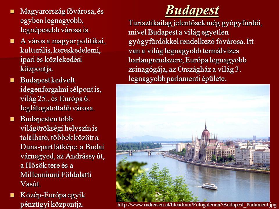Budapest Magyarország fővárosa, és egyben legnagyobb, legnépesebb városa is. Magyarország fővárosa, és egyben legnagyobb, legnépesebb városa is. A vár