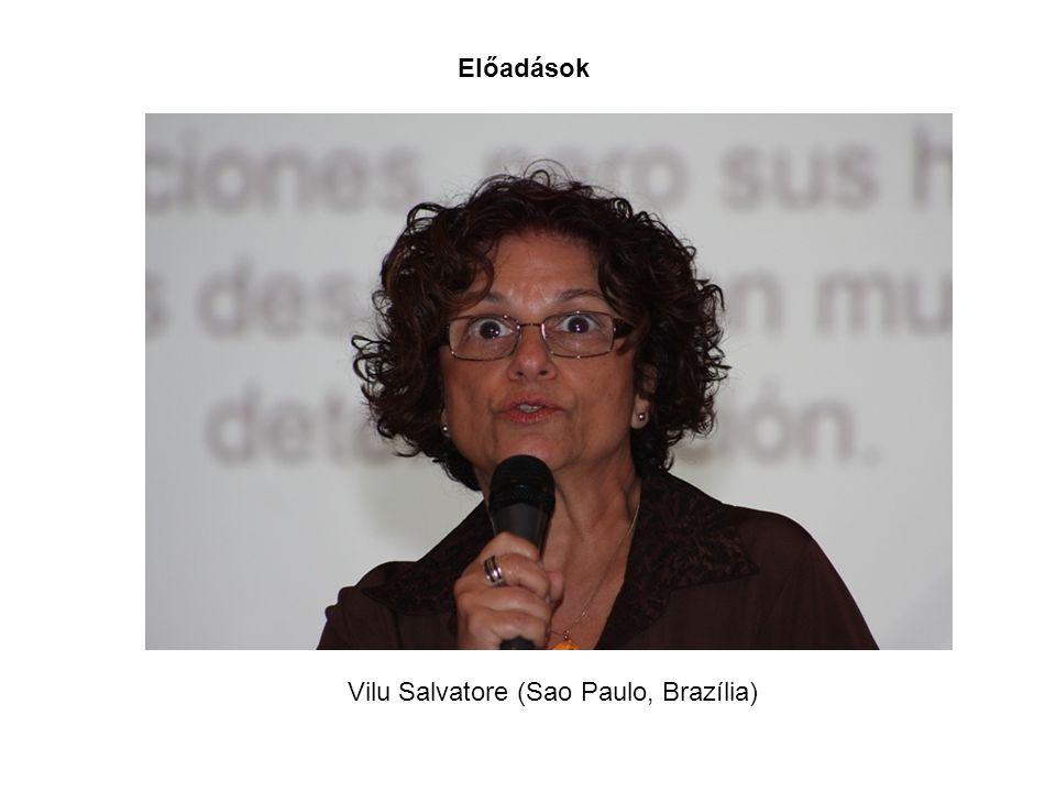 Előadások Vilu Salvatore (Sao Paulo, Brazília)