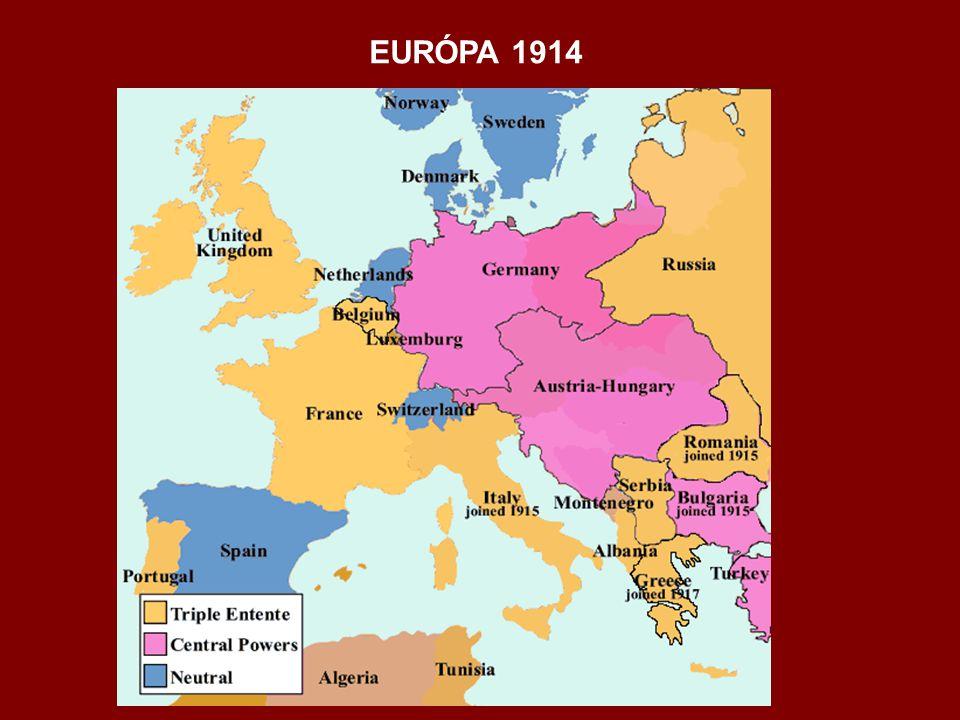 EURÓPA 1914