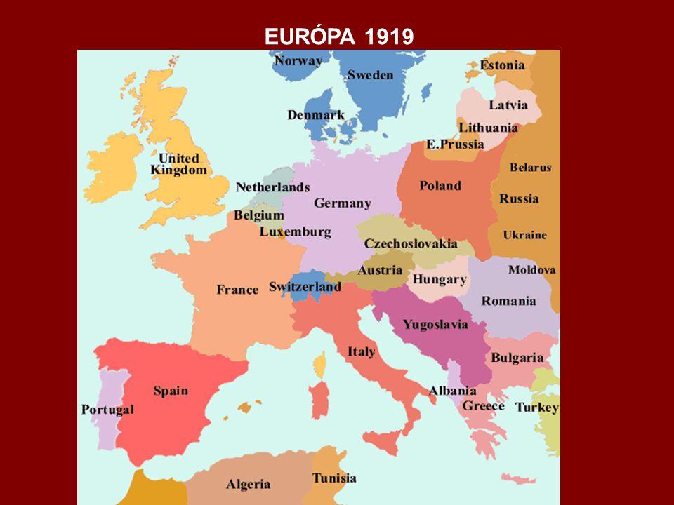 EURÓPA 1919