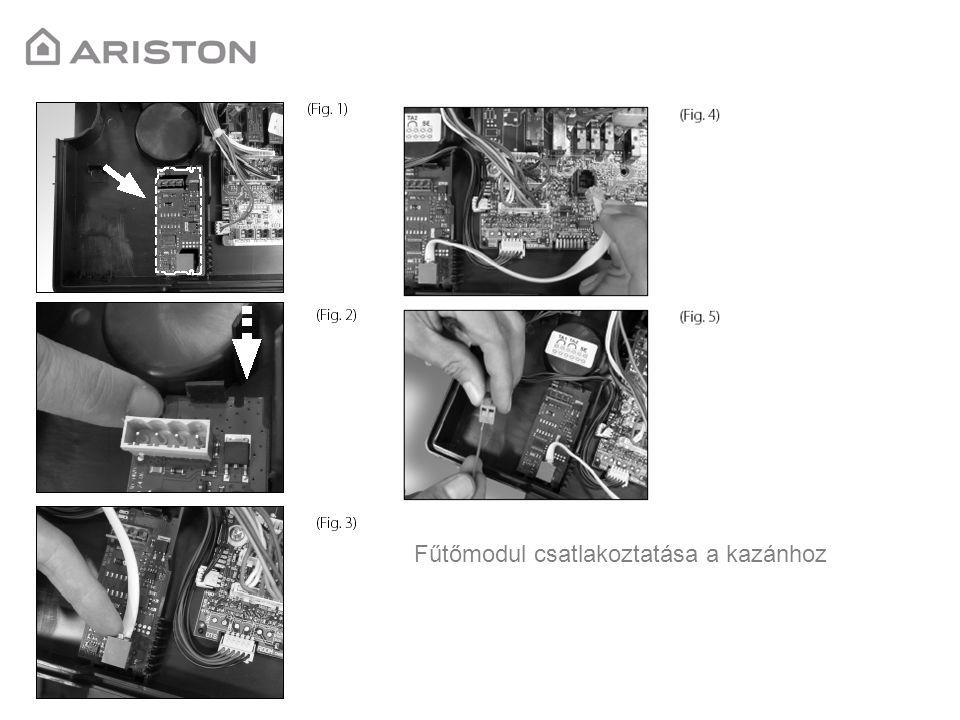 Csatlakoztatható a következő készülékekhez: Ariston Genus Premium Ariston Genus Premium System Ariston Clas Premium Ariston Genus Ariston Clas Ariston Clas System