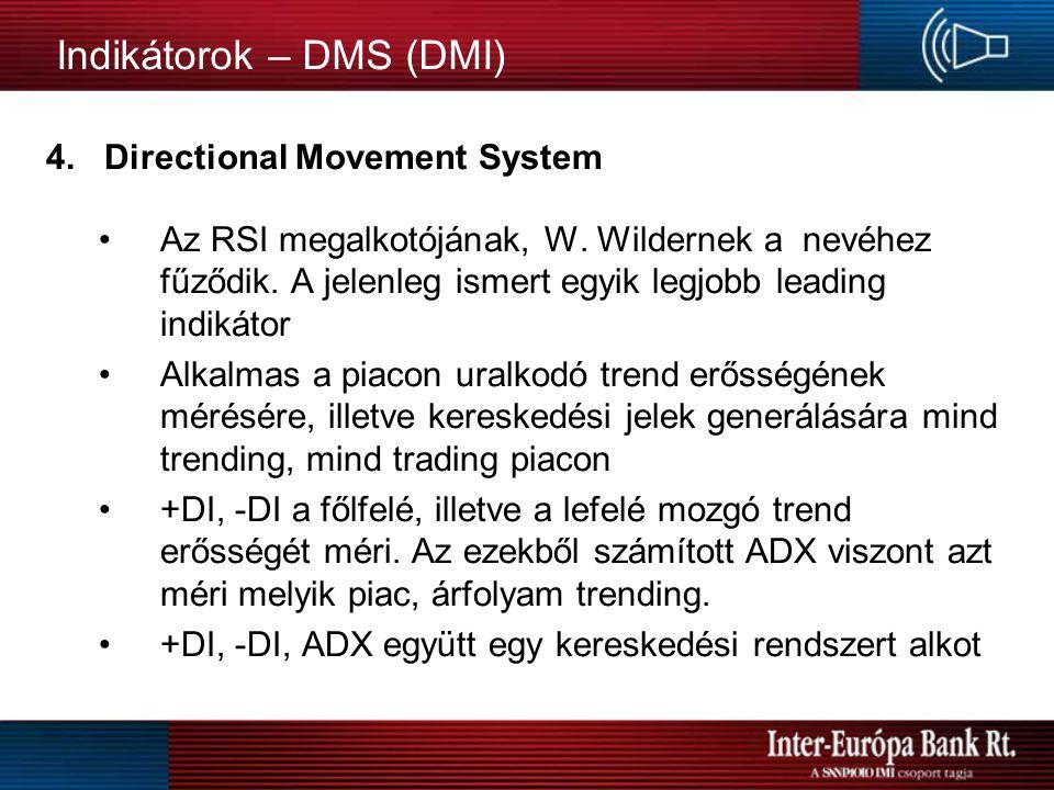 Indikátorok - Stochastic Oscillator