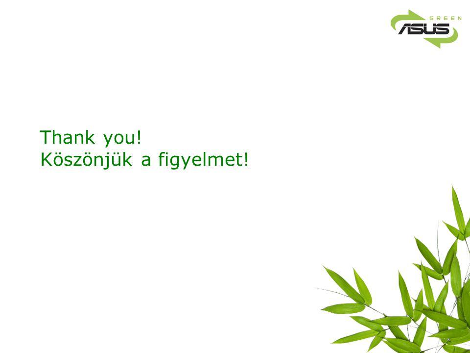 Thank you! Köszönjük a figyelmet!