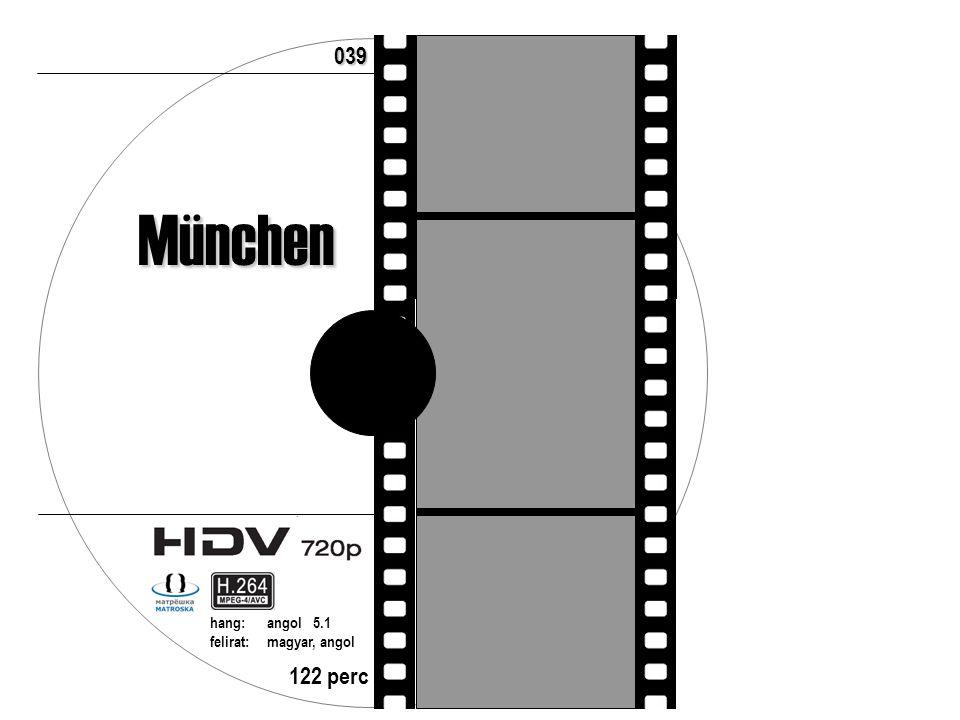 122 perc hang:angol 5.1 felirat:magyar, angol 039 München