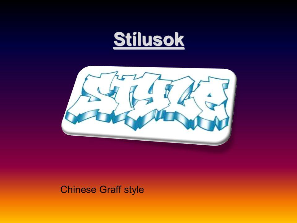 Stílusok Chinese Graff style