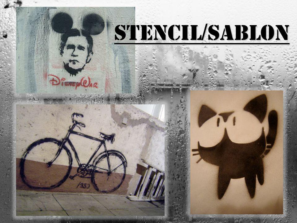 Stencil / sablon