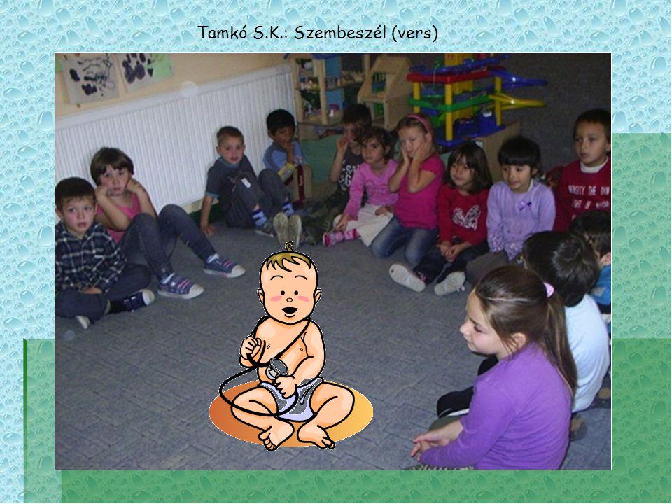Tamkó S.K.: Szembeszél (vers)