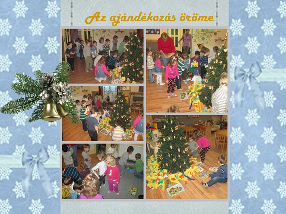 Az ajándékozás öröme