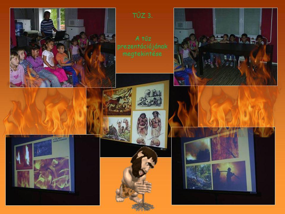 TŰZ 3. A tűz prezentációjának megtekintése